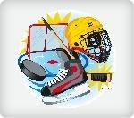 Hockey Fan Personalized Edible Image Cake Topper