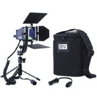Smith Victor SV-840 AC / DC On Camera Video Light Kit with Battery and Charger