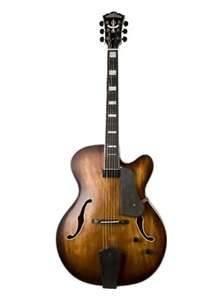 Washburn J600K Vintage Jazz Electric Guitar (Hardshell Case Included!)