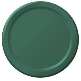Forest green plates luncheon - 1