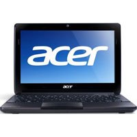 Acer Aspire One AOD257-1671 10.1 inch Netbook PC, Intel Atom N570 Dual-Core 1.66GHz Processor, 1GB RAM, 250GB HDD, Windows 7 Starter, Espresso Black