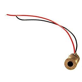 6 millimetri 5mA modulo laser rosso (3.5 ~ 4.5V)