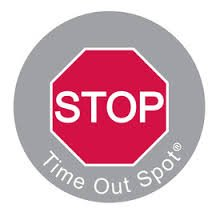 Child to Cherish Baby Toddler Kid Time Out Spot Mat Stop Sign