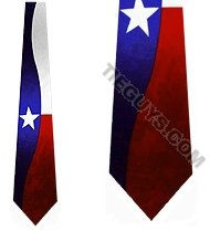 Texas Flag TIES Necktie
