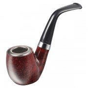 Portable Mini Ebony Glaze Smoking Pipe Tobacco Cigarettes Pipes