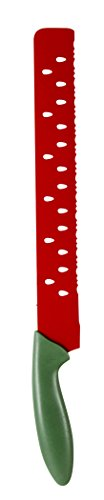 Evriholder Scalloped Watermelon Knife, Stainless Steel Blade, 17-Inch