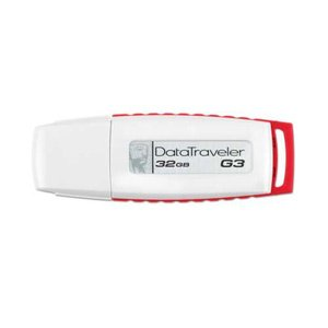 Kingston DataTraveler 32GB USB White/Red Retail