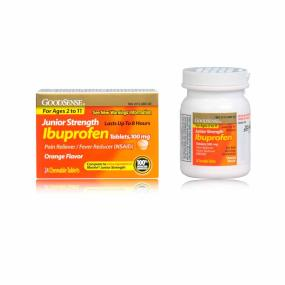 does ibuprofen reduce fever in adults