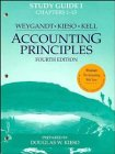 Study Guide Volume 1 to accompany Accounting Principles Study Guide Volume by Jerry J. Weygandt