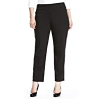 Plus Slim Leg Trousers with StayNEW™