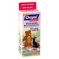 Orajel Toddler Training Little Bear Toothpaste - Berry Blast