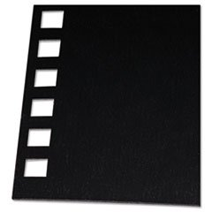 SwinglineTM GBC® 2514478 - PROCLICK PRE-PUNCHED PRESENTATION COVERS, 11 X 8-1/2, BLACK, 25/PACK