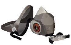 3M Full Facepiece Reusable Respirator 6800, Respiratory Protection, Medium(Pack Of 1)