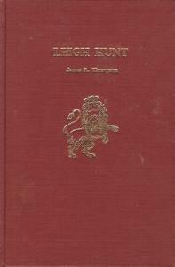 Image for Leigh Hunt (Twayne's English authors series ; TEAS 210)
