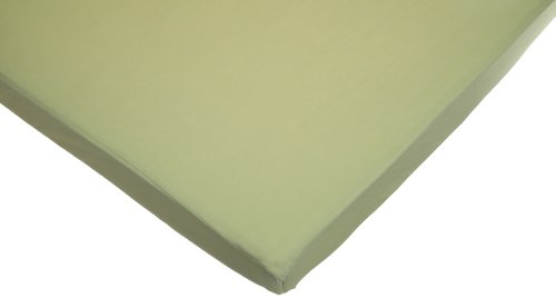 American Baby CompanyJersey Knit Fitted Portable/Mini Sheet, Celery