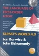 The Language of First-Order Logic: Including the Windows Program Tarski's World 4.0 for use with IBM-compatible computers (Center for the Study of Language and Information - Lecture Notes)
