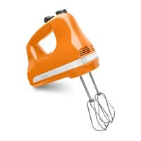 Kitchenaid 5 Speed Mechanical Speed Control Powerful Ultra Power Hand Mixer Swivel Cord Tangerine at Sears.com