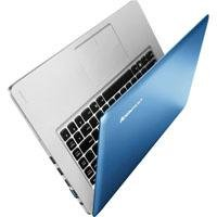 Lenovo IdeaPad U410 14 LED Ultrabook, Intel i5-3317U 1.7GHz, 8GB RAM, 750GB HDD+32GB SSD, Win 7 Adept in Premium (Upg to Win 8 Professional $14.99), Blue