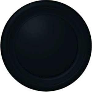 Black Plastic Plates (S) 20 Ct [2 Retail Unit(s) Pack] - 43030.10