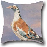 16 X 16 Inches / 40 By 40 Cm Oil Painting Dean Wolstenholme - Studies Of Carrier Pigeon Throw Pillow Case ,2 Sides Ornament And Gift To Drawing Room,monther,wedding,kids Room,bar Seat (Construction Drawings Carrier compare prices)