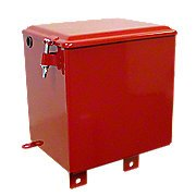 Battery Box With Lid And Hardware -- Fits Farmall A, B, Bn -- Restoration Quality!