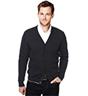 Blue Harbour Pure Cotton 2 Pockets Cardigan