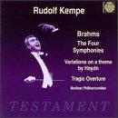 CD ルドルフ・ケンペ指揮 ブラームス:交響曲全集ほかの商品写真