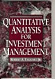 Quantitative Analysis for Investment Management