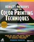 img - for HP Guide to Color Printing Techniques:: How to Get the Most from Your Black and Color HP DeskJet Printer book / textbook / text book