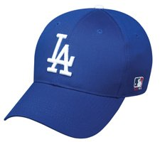 MLB ADULT Los Angeles DODGERS Home Blue Hat Cap Adjustable Velcro TWILL