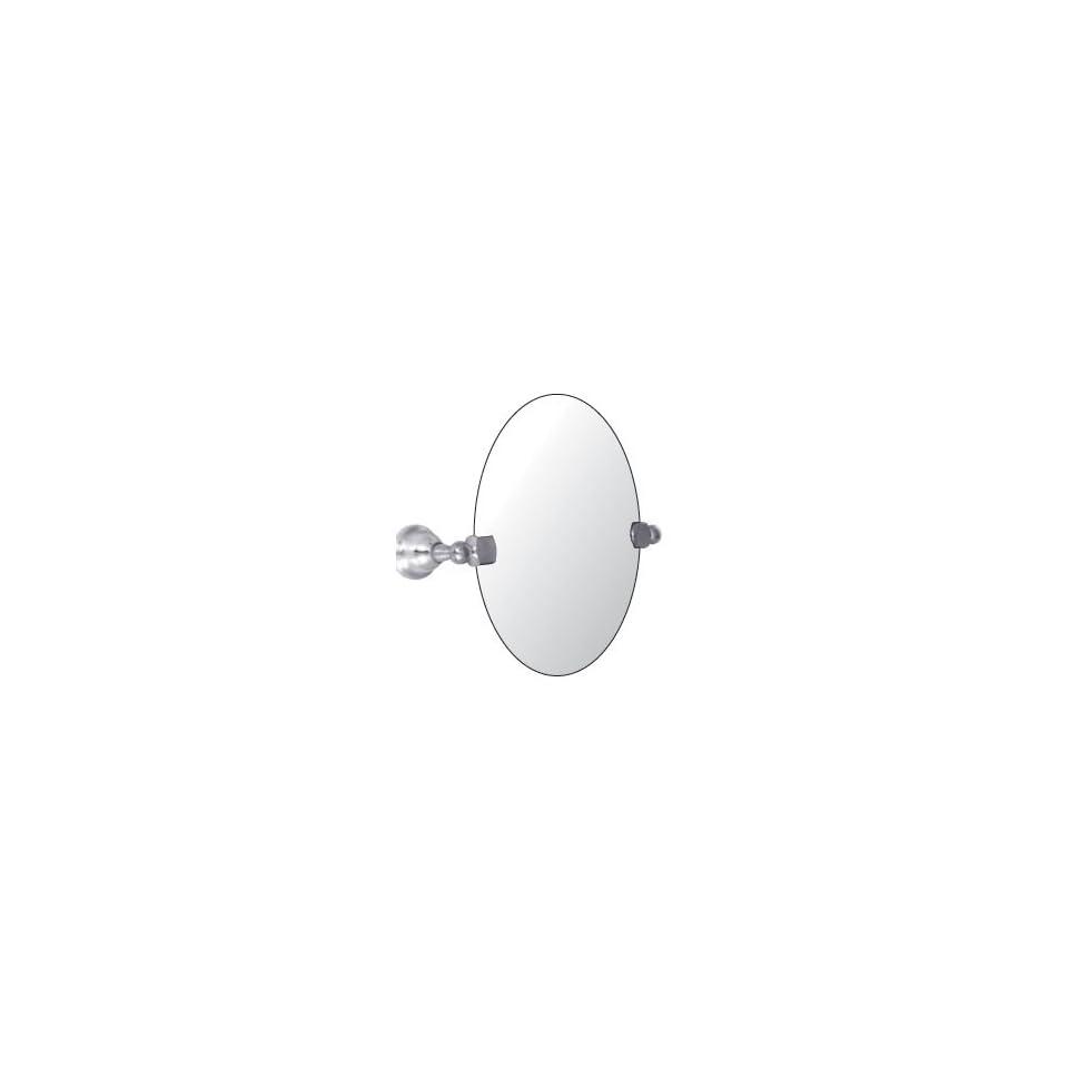 Watermark Designs 28 0.9B Polished Chrome Bathroom Accessories 24 x 36 Oval Mirror  Swivel With Brackets