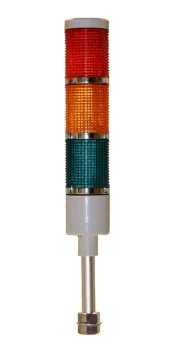 American Led-Gible Ld-5213-100 Led Tower Light, 120V, Red/Yellow/Green