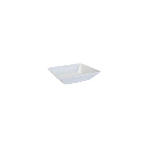Tuxton Bpb-410H Porcelain White 41 Oz. Square Series Bowl - 12 / Cs