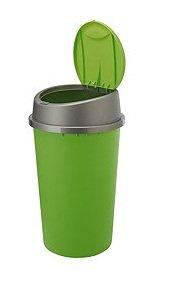 NEW COLOUR APPLE GREEN TOUCH TOP BIN / DUSTBIN / RUBBISH BIN / KITCHEN / HOME / PLASTIC.