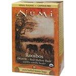 Numi Tea Organic Teas Rooibos Herbal Teasans 18 Tea Bags