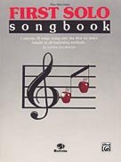 First Solo Songbook - Band Supplement