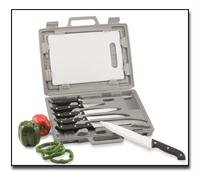 Maxam Knife Set With Cutting Board