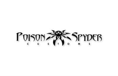Poison Spyder Logo Decal Medium - 12