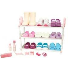 Our Generation Shoe Collection and Storage Set