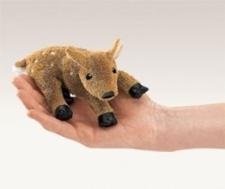 Folkmanis Fawn Finger Puppet from Folkmanis