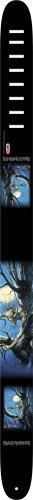 Perri's Leather - Tracolla per chitarra, 6,35 cm, motivo: Iron Maiden Demon in Moonlight
