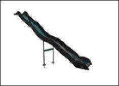 Anbaurutsche Wellenrutsche 3.80m dunkelgrün günstig