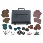 INGERSOLL-RAND 23A-VAR-GR Die Grinder Accessory Kit,50 Pc,w/Case