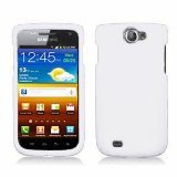 For T Mobil Samsung Exhibit II 4G T679 Accessory - Whte Hard Case Proctor Cover