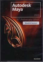Autodesk Maya 2009 10th Anniversary Edition Student Version