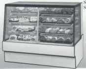 Federal Industries Sgr7748Dz High Volume Vertical Dual Zone Bakery Case
