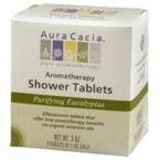 Aura Cacia Organic Shower Tab, Eucalypts, 1oz, 3ct
