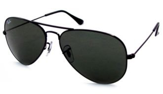 ray-ban-aviator-rb-3025-l2823-58mm-black-frame-with-dark-green-100-uv-protection-sunglasses