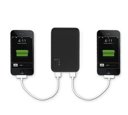 Superb Choice Dual-Port External Battery Pack and Charger (Black Color) 5000mAh for iPad2, iPad, iPhone 4G, 3Gs 3G 2G (AT&T and Verizon), iPod Touch (1G 2G 3G 4G), iPod Classic, Motorola Droid Phones, HTC Android Phones, Blackberry, Kindle DX, Samsung Galaxy S, Samsung EPIC, Nintendo, Sony PSP and many more