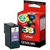 Lexmark No 33 Ink Cartridge Colour 11.5ml